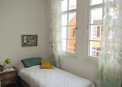 Gästezimmer im Beginenhaus Tübingen-Mauerstraße